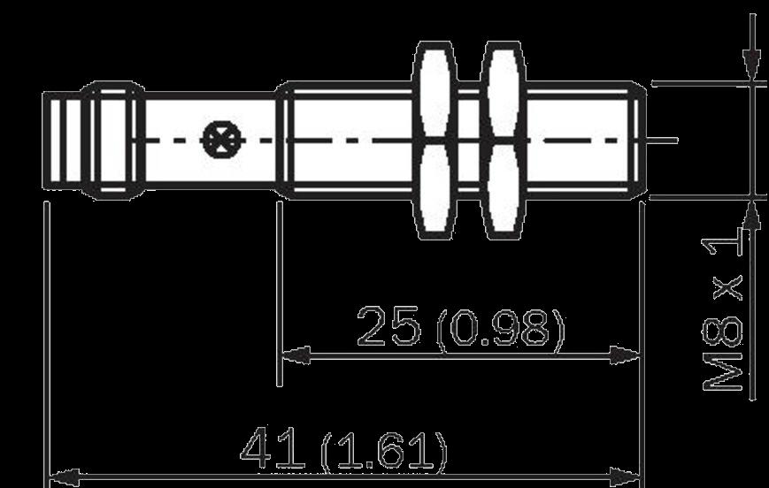 Индуктивный датчик IME08-1B5NOZT0K