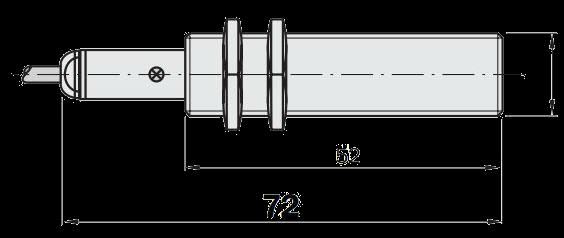 Индуктивный датчик IME18-05BNOZW2S