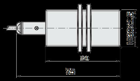 Индуктивный датчик IME30-10BNOZW2S