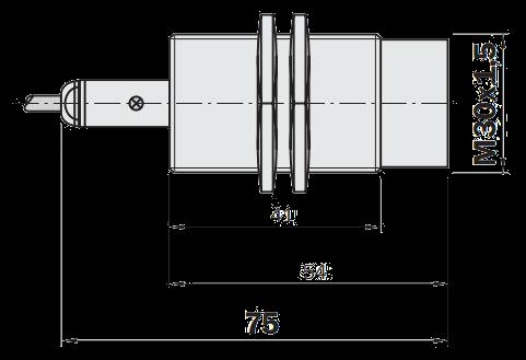 Индуктивный датчик IME30-15NNOZW2S
