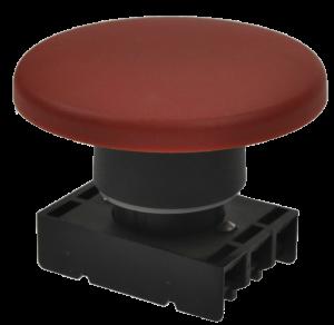Кнопка безопасности грибовидная 8LP2TB6164 красная, моностабильная