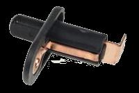 Кнопка ASW18 черная, моностабильная