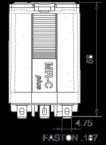 Мощное реле C5-G30 X/24VAC, с замыкающими контактами
