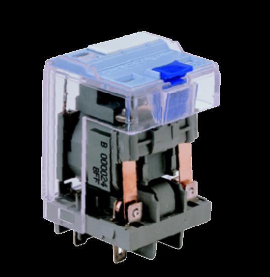 Мощное реле C5-M10 X/24VAC, двойного действия, с дугогасительным магнитом