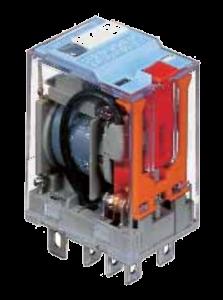 Мініатюрне реле C7-А20 X/24VAC, з перемикаючими контактами