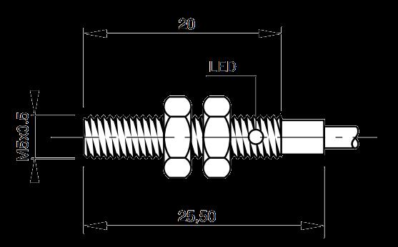 Индуктивный датчик IS-05-A1-03