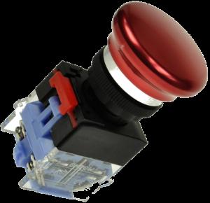 Кнопка безопасности грибовидная LAS0-K-11MB/R красная, моностабильная