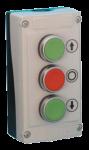 Пост керування кнопковий LBX30430, 3 натискні кнопки