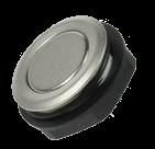 Кнопка антивандальная MCS19 1241.2800 хромированная, моностабильная