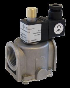 Газовий електромагнітний клапан MD01G04A1B015, двоходовий, прямої дії