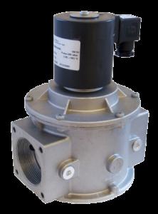 Газовий електромагнітний клапан MD21G04C4B015, двоходовий, прямої дії