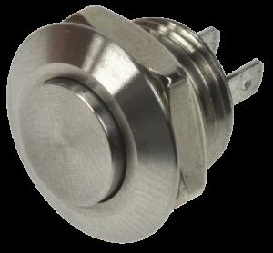 Кнопка антивандальная MSW-1202 хромированная, моностабильная