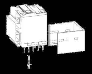 Монтажная клипса S4 4, для промышленных реле