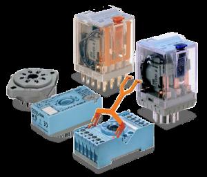 Электромагнитные реле управления и аксессуары