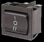 Клавішний мініатюрний трипозиційний перемикач T8670VB, двополюсний