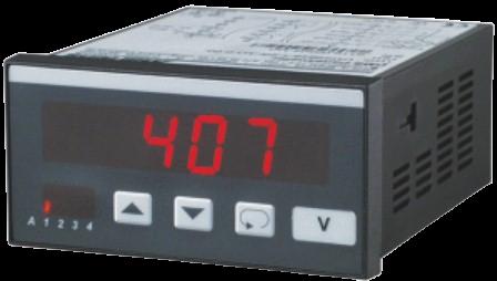 Цифровой вольтметр V9648, с дисплеем для панельного монтажа